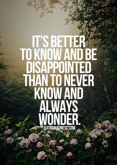 know-and-disappointed-quote